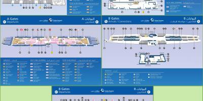 Dubai Karte - Karten-Dubai (Vereinigte Arabische Emirate) on